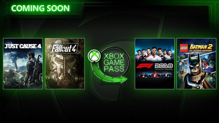 Xbox Game Pass: Just Cause 4, Fallout 4 & mehr! Das sind die offiziellen März-Titel für den Abo-Service