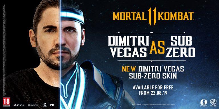 Mortal Kombat 11: Frisch enthüllter Charakter-Skin für Sub-Zero basiert auf DJ Dimitri Vegas