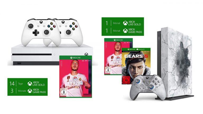 DEALS: Noch gültig! Reduzierte Xbox One X/S FIFA 20-Bundles & FIFA 20 + Xbox Game Pass Ultimate-Bundles