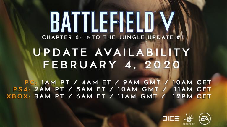 Battlefield V: Nicht verpassen! Release-Uhrzeit von Update 6.0 & Patch-Notes