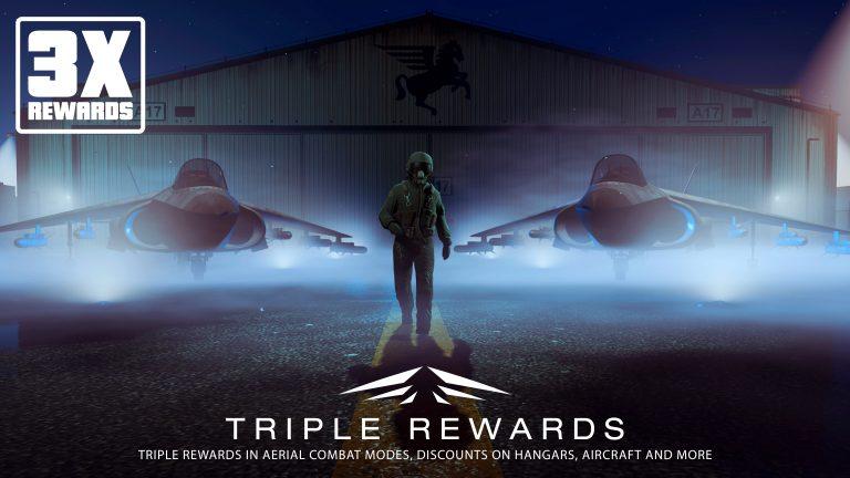 GTA Online: Dreifache Belohnungen für Luftkampf-Modi, GTA$-Geschenke, doppelte Einnahmen in Smuggler's Run & mehr