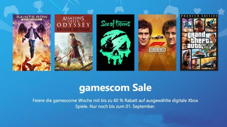 DEALS: Großer gamescom-Sale mit über 200 Angeboten im Microsoft Store