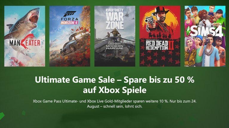 Xbox Ultimate Game Sale: Über 500 Games reduziert + 10% Extra-Rabatt für Ultimate- und Gold-Mitglieder