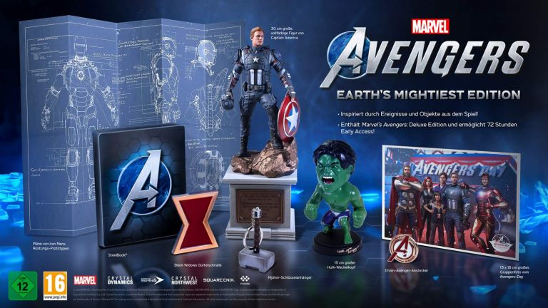 DEALS: Square Enix Marvel's Avengers – Earth's Mightiest Edition (Xbox One) für 99,99€ inkl. Versand