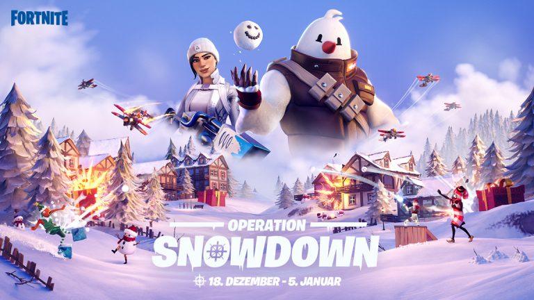 Fortnite: Operation – Snowdown bringt frostige Unterhaltung