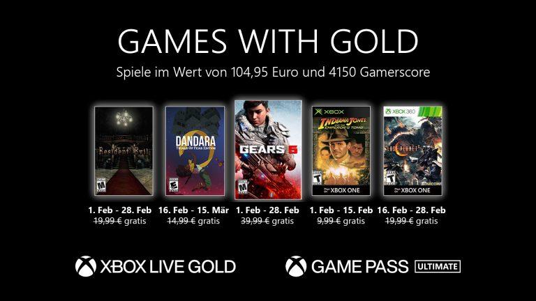 Games with Gold: Diese Spiele gibt es im Februar gratis