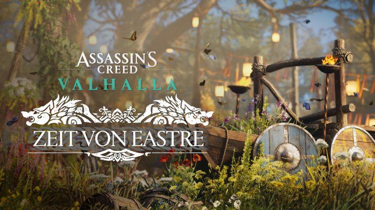 """Assassin's Creed Valhalla: """"Zorn der Druiden"""" erscheint am 29. April & Eastre-Fest ab sofort startklar"""