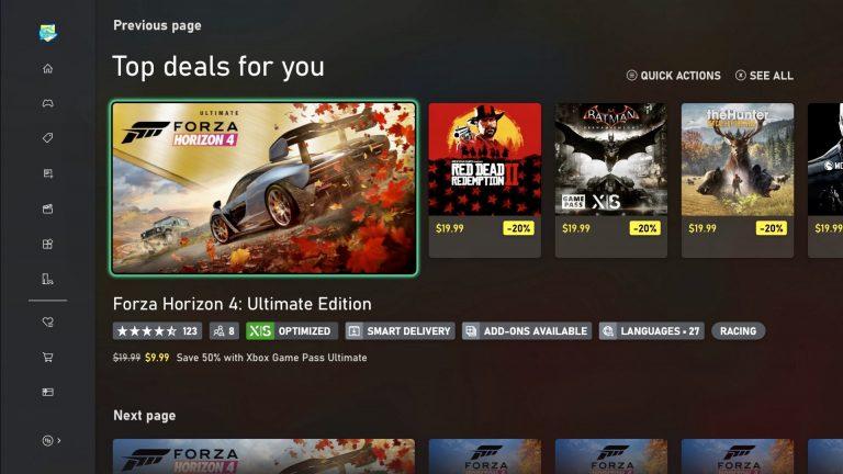 Xbox One: Entdecke Spiele auf Xbox in Deiner bevorzugten Sprache jetzt noch einfacher
